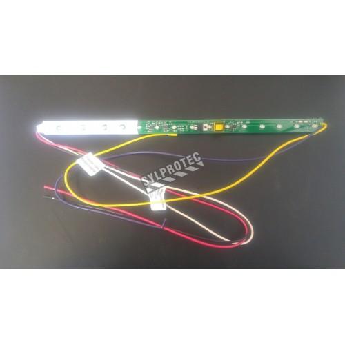 Barre de lumières DEL pour unité d'éclairage «Sortie» d'urgence