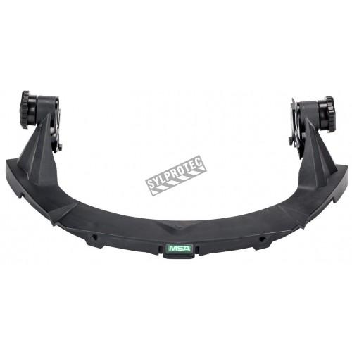 Porte-visière conçu pour les casques de sécurité MSA pour une protection faciale sur mesure Visière et casque non-inclus