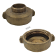Threaded brass reducer 2.5 inch to 1.5 inch female to male for Quebec