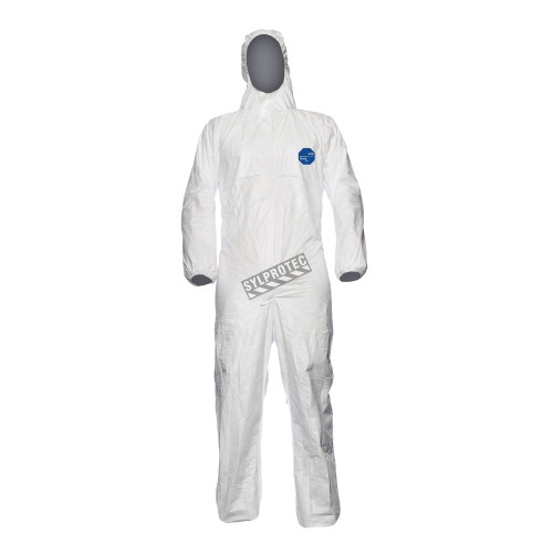 Disposable TYVEK coveralls with hood, unit
