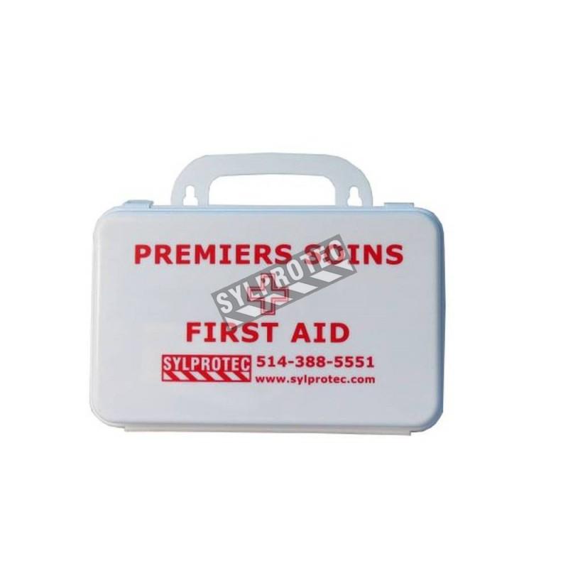 Trousse de premiers soins conforme CAN/CSA Z1220-17 pour travailleur isolé ou véhicule 5 personnes et plus
