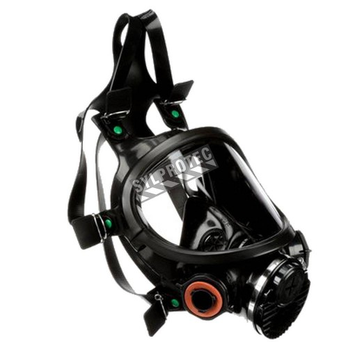 3M 7800 series NIOSH approved full facepiece Lightweight and comfortable Filter and cartridge not included
