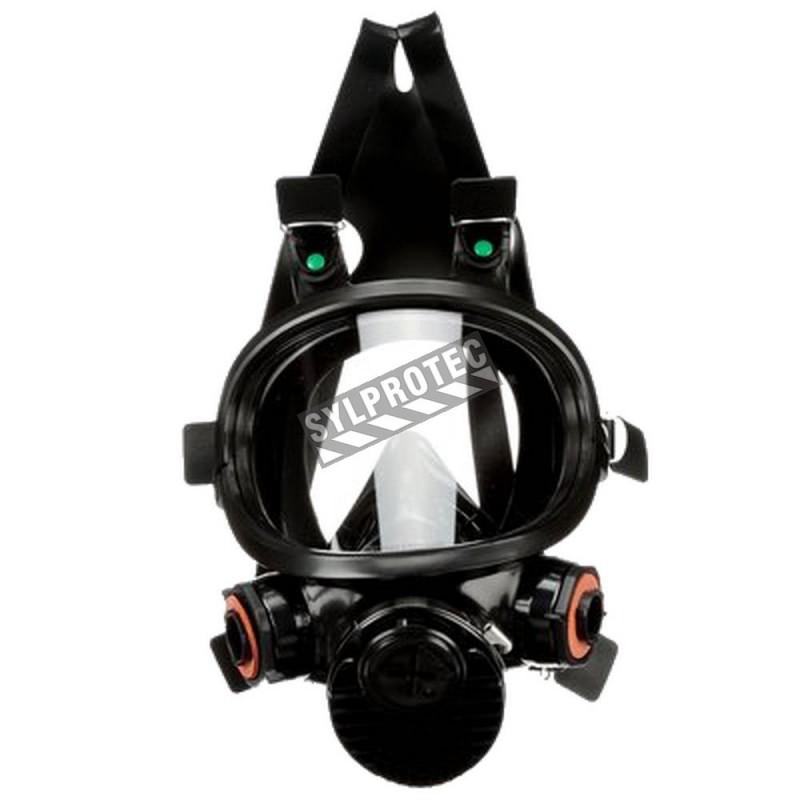 Masque complet de protection respiratoire de série 7800 de 3M. Homologué NIOSH Cartouche et filtre non-inclus