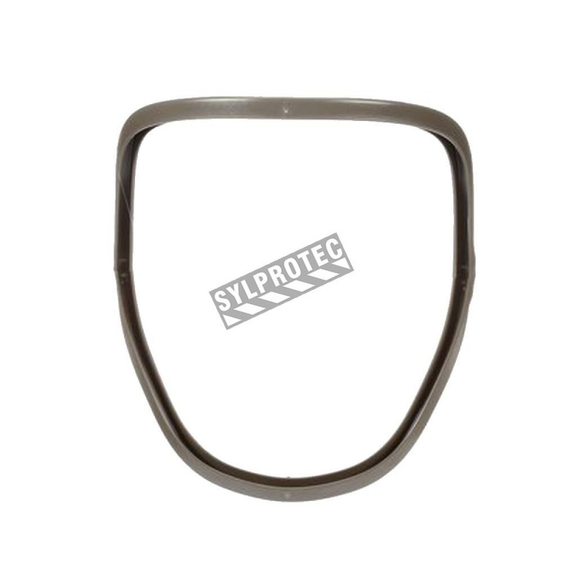 3M spare frame kit for 3M series 6000 full facepiece. Use to secure 3M lens assembly 6898 to facepiece, 5 units.