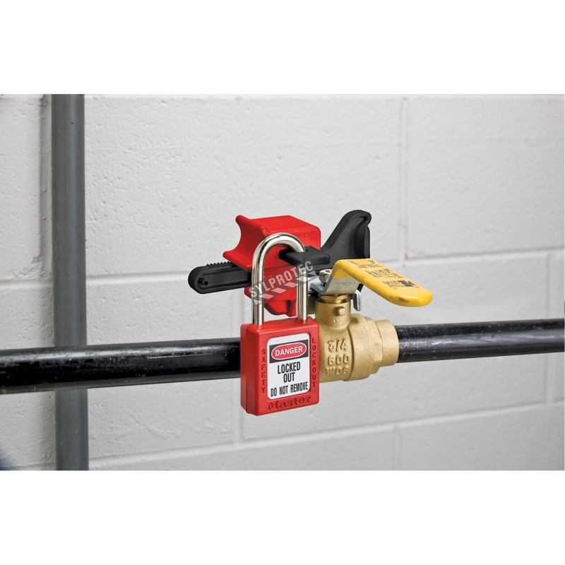 Locking device for faucet handles