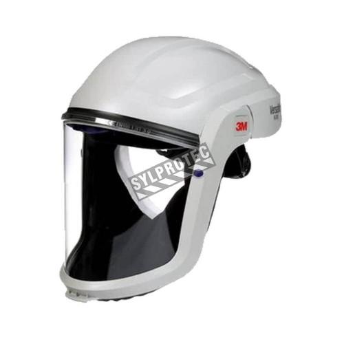 Partie faciale 3M avec casque dur de base pour les systèmes de protection respiratoire de 3M. Facteur de protection de 25.