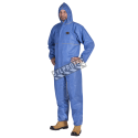 Blue FR SMS coverall, type 5 and 6, sold individually.