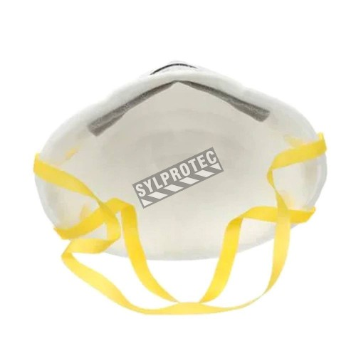 3M N95 particulate respirator for protection from solids & non-oil based liquids particles.