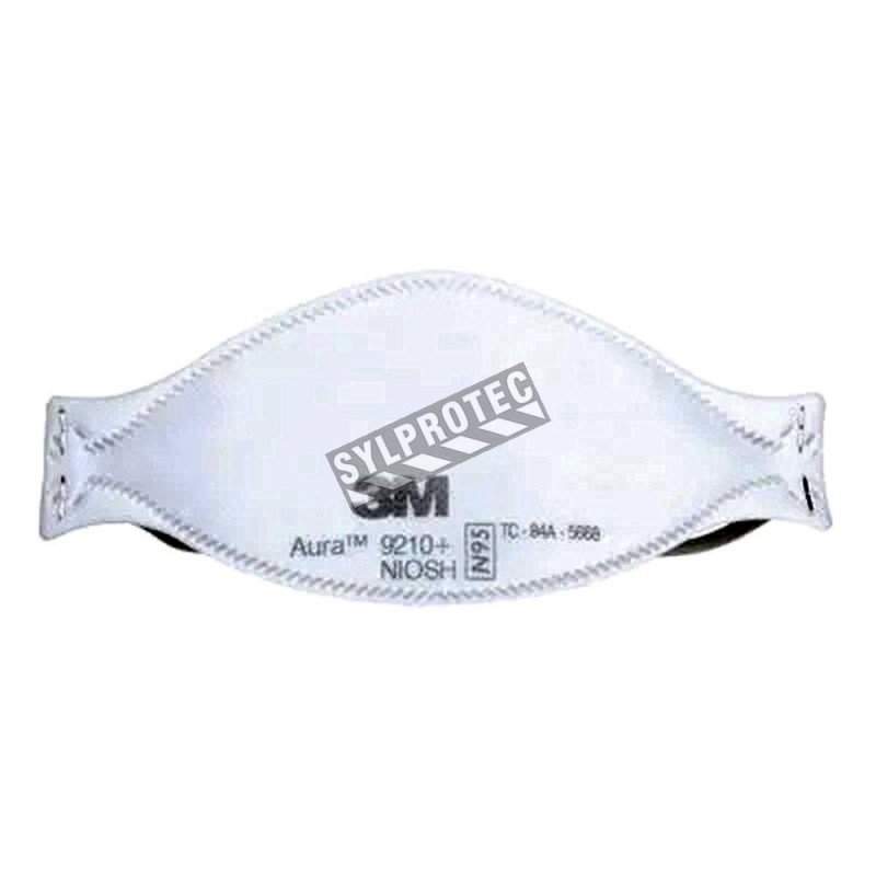 Masque respiratoire N95 de 3M pour protection contre les particules solides & liquides sans huile. Vendu par boite de 20 unités.