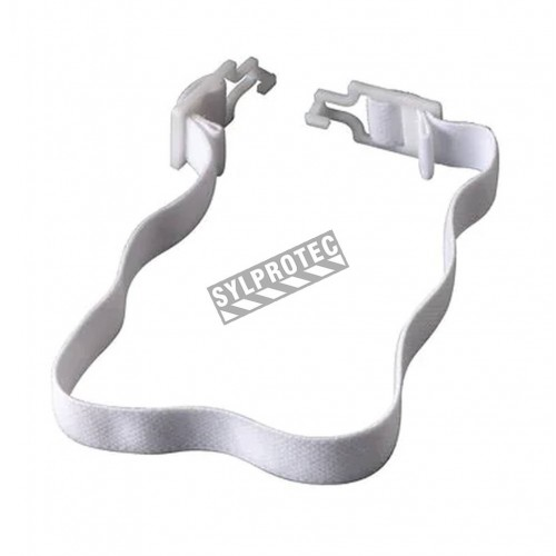 Chin strap to be use with RH410 or RH420 respiratory hood, (2 units).