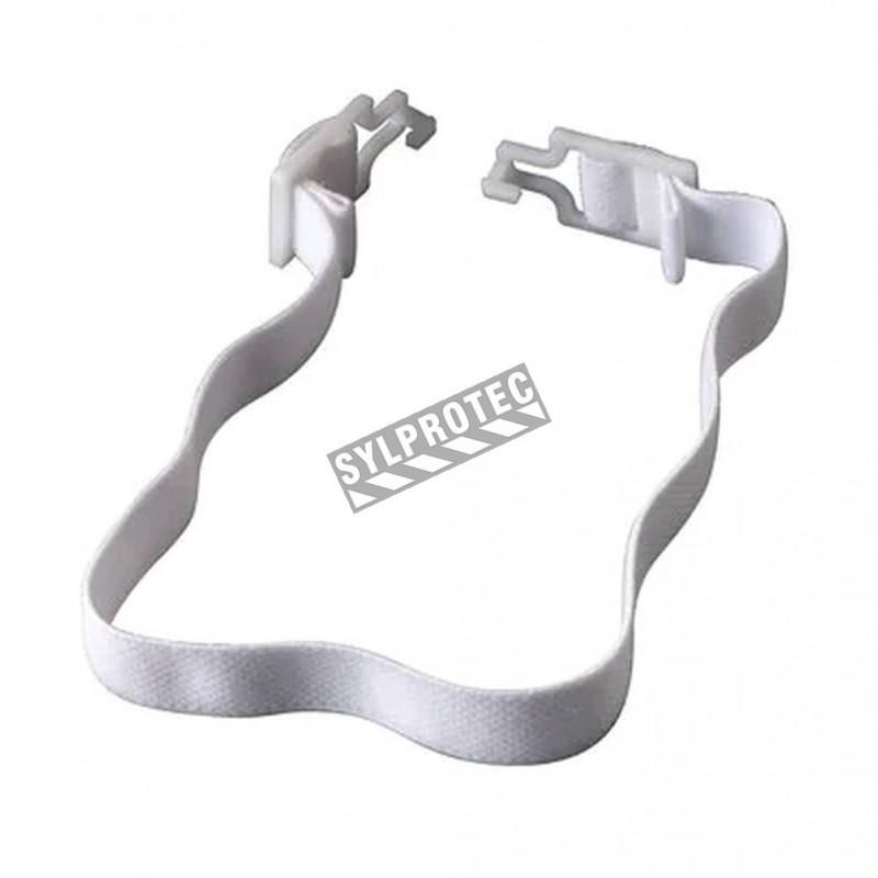 Courroie passant sous le menton pour les cagoules de protection respiratoire RH410, RH420, (2 unités).