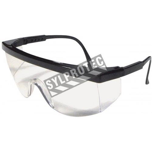 Lunette de sécurité Cee Tec de Dentec safety lentille de polycarbonate clair certifiée CSA