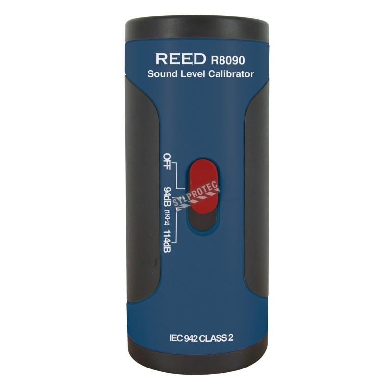 Calibreur acoustique, conforme à la norme IEC 942 Classe 2.