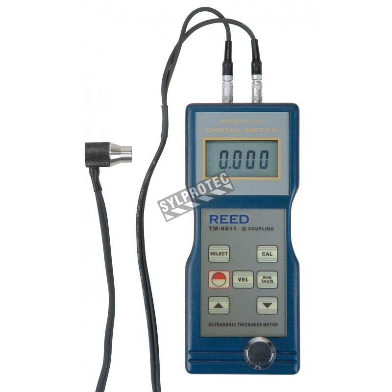 Ultrasonic Thickness Gauge for steel, cast iron, aluminum, red copper.