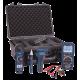 Trousse combo industrielle, multimètre, pince ampèremétrique, détecteur de tension et autres.