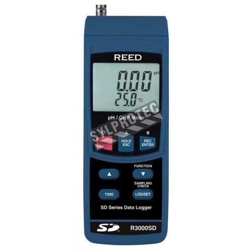 Compteur de pH, ORP et enregistreur