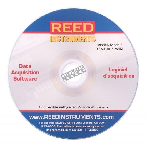 Logiciel d'acquisition des données pour instrument de mesure REED.