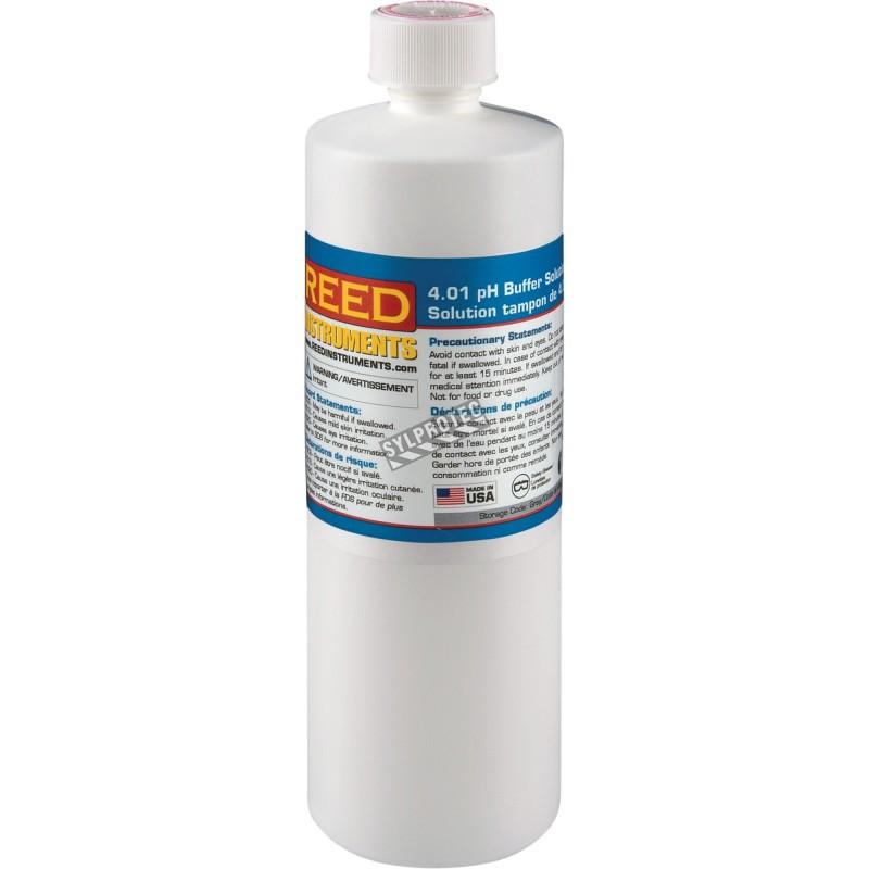 Solution tampon de 4.0  pH pour Ph metre de Reed instruments.
