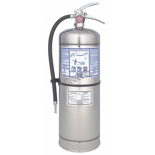 Extincteur usagé à l'eau, 2.5 gallons, classe A, ULC 2A pour travaux de soudure