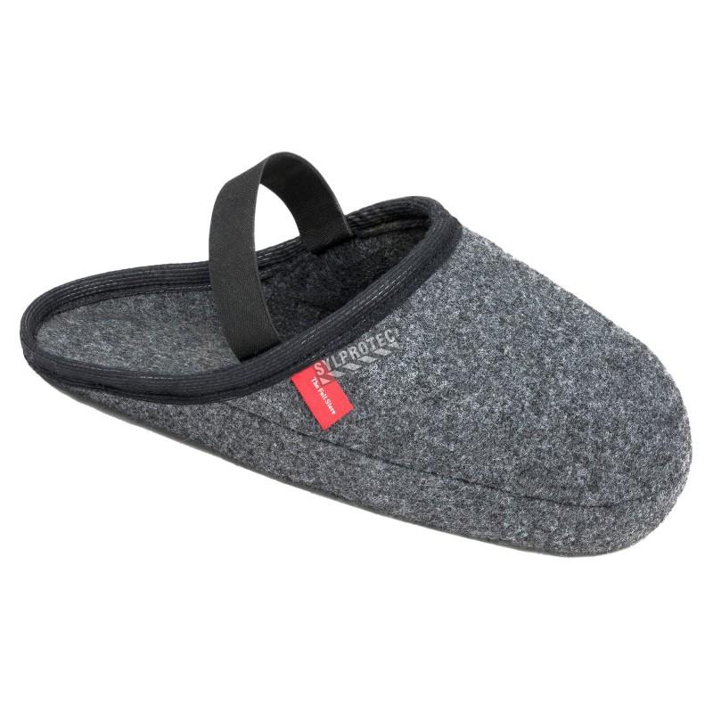 Shoe cover, Felt slip-on with elastic band