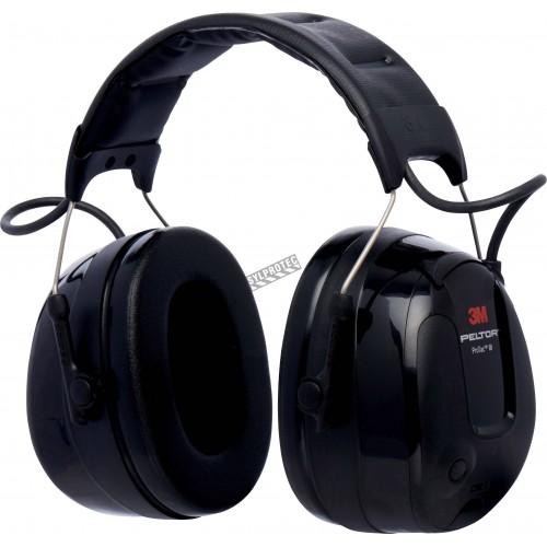 3M Protac III, serre-tête protection de l'ouïe et perception des situations ambiantes