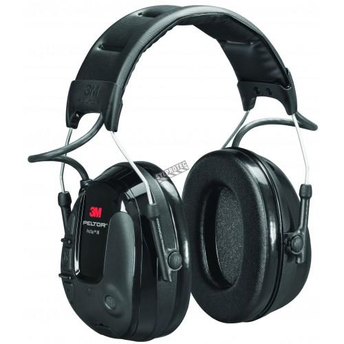 3M Protac III, headband hearing protection and environmental awareness