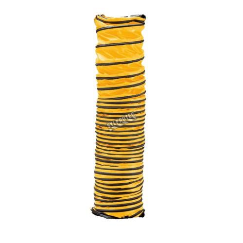 Conduit souple ayant 12 po / 30.48 cm de diamètre pour ventilateur d'Allegro, disponible en 3 longueurs 6, 15 ou 25 pi.