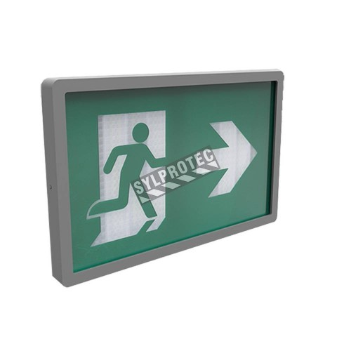 Luminaire au tritium 15 ans avec pictogramme running man