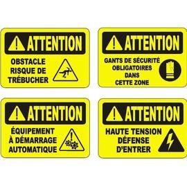 Warning OSHA sign