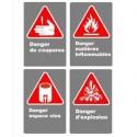 Affiches CSA danger