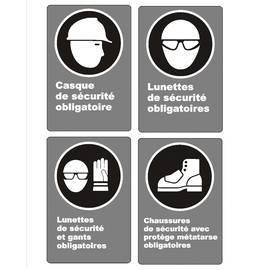 CSA obligation for workers signs