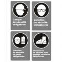 Affiches CSA protection de la personne, obligation