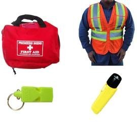 Accessoires pour l'évacuation d'édifices