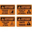 Affiches OSHA avertissement