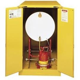 Flammable liquids storage cabinets from Justrite