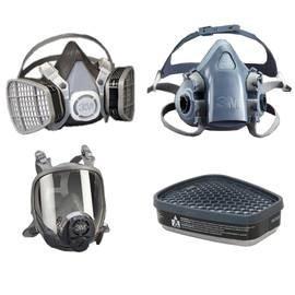 3M Respirators and Cartridges