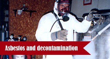 Asbestos and decontamination
